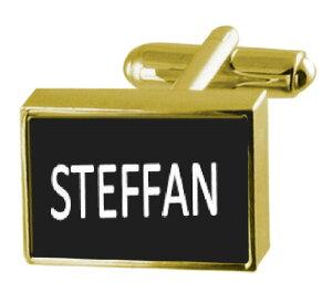 【送料無料】メンズアクセサリ? カフリンクスマネークリップengraved money clip with cufflinks name steffan