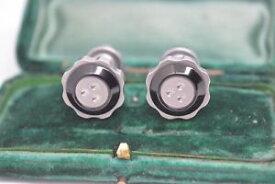 【送料無料】メンズアクセサリ— マクラーレンスチールカフリンクスロンドンリンクrare brushed steel cufflinks made for mclaren by links of london b658