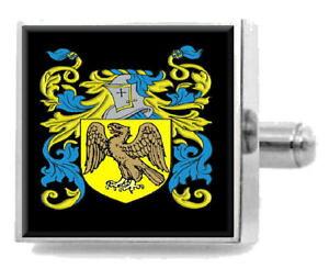 【送料無料】メンズアクセサリ? イングランドカフスボタンボックスhargreaves england heraldry crest sterling silver cufflinks engraved box