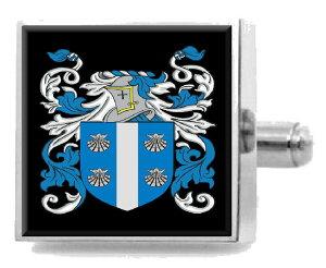 【送料無料】メンズアクセサリ? イギリスカフスボタンボックスmacbride england heraldry crest sterling silver cufflinks engraved box