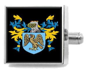 【送料無料】メンズアクセサリ? イギリスカフスボタンボックスibbotson england heraldry crest sterling silver cufflinks engraved box