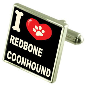 【送料無料】メンズアクセサリ? シルバーカフスボタンマネークリップsilver 925 cufflinks amp; bond money clip i love redbone coonhound