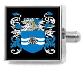 【送料無料】メンズアクセサリ— オニールアイルランドカフスリンクケースoneill ireland family crest surname coat of arms cufflinks personalised case