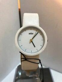 【送料無料】腕時計 ウォッチ ブラウンレディースホワイトセラミックベゼルアナログアラームレザーストラップbraun damas anlogo de bisel cermico blanco reloj correa de cuero bn 0021 whwhwhl