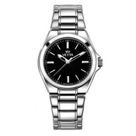 5d139cad73 【送料無料】腕時計 ウォッチ アラームフォルクスワーゲンステンレススチールブレスレットブラッククラシックメートルreloj
