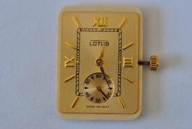 【送料無料】腕時計 ウォッチ ロータスoriginal lotus eta 980163 movement untested ref12554