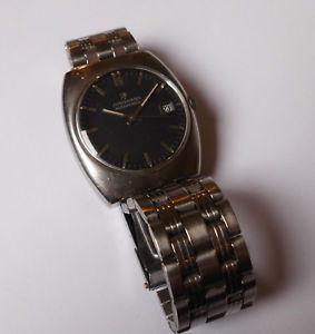 【送料無料】腕時計 ウォッチ ステンレススチールビンテージドイツアラームcaballeros vieja junghans automatic en acero inoxidable temprana 70er vintage germany reloj