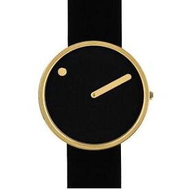 【送料無料】腕時計 ウォッチ ベルトrosendahl picto negro reloj de oro correa medio 43387
