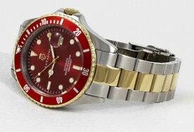 【送料無料】腕時計 ウォッチ ダイバーバーアラームbuceadores automatik reloj 30 bar wd massive en ferari rojo advantage bicolor