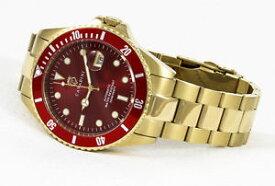 【送料無料】腕時計 ウォッチ ダイバーアラームサイズバーbuceadores automatik reloj 30 bar wd massive en ferari rojo advantage talla 45mm