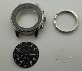 【送料無料】腕時計 ウォッチ ミリルミノバvaljoux 7750 boitier pilote acier 46 mm cadran et aiguilles luminova neufs