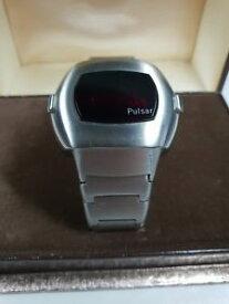 【送料無料】腕時計 ウォッチ pulsar led wristwatch mod 3001