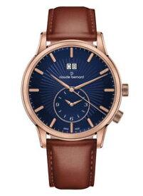 【送料無料】腕時計 ウォッチ クロードベルナールクラシックビッグクォーツclaude bernard classic gmt grande fecha cuarzo 62007 37r buir