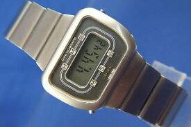【送料無料】腕時計 ウォッチ デジタルビンテージレトロクォーツreloj digital vintage retro longines cuarzo lcd circa 1970s sec 942711