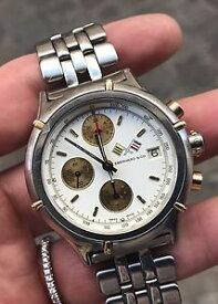 【送料無料】腕時計 ウォッチ クロノクロノグラフゴールドゴールドeberhard amp; co croisiere chrono chronograph 40 mm oro gold automatic ref 32023