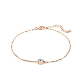 【送料無料】ブレスレット アクセサリ— チェーンブレスレットchain anklet with swarovski crystal plated ankle bracelet