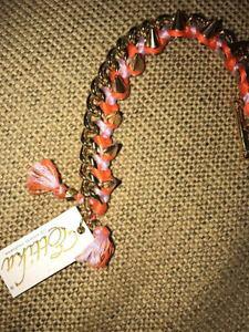 【送料無料】ブレスレット アクセサリ? ブレスレットkゴールドスパイクオレンジブティックettika friendship bracelet 14k gold plated spike orange purple boutique 75