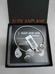 【送料無料】ブレスレット アクセサリ? アレックスシーシェルブレスレットシルバータグボックスカードalex and ani sea shell charm bracelet silver finish with tagsboxcard