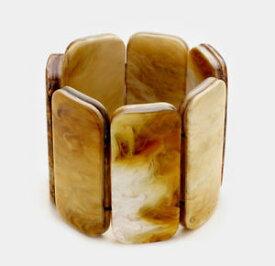 【送料無料】ブレスレット アクセサリ— シェルストレッチブレスレットmarni hamp;m shell stretch bracelet