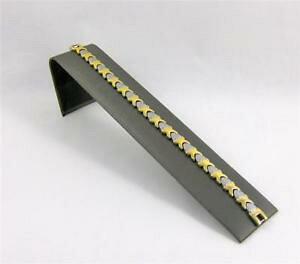 【送料無料】ブレスレット アクセサリ? ブレスレットデザイナーシーシェルリンクミクロン75 bracelet designer sea shell links magnetic surgical 316l ss 3 micron gold