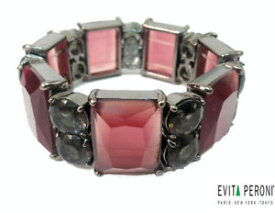【送料無料】ブレスレット アクセサリ—  evita peroni bracelet beautiful crystals flexible vintagewomens jewelry evita peroni bracelet beautiful crystals flexible