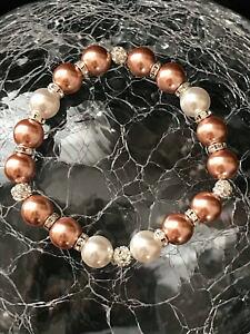 【送料無料】ブレスレット アクセサリ? ブレスレットハンドメイドスワロフスキークリスタルgemstone bracelet handmade from high quality swarovski crystal pearls