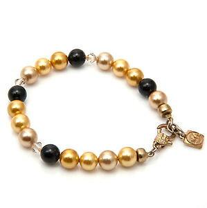 【送料無料】ブレスレット アクセサリ? マルチカラーサウスシーシェルブレスレットストランド multicolour south sea shell pearls bracelet gold plated single strand