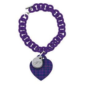 【送料無料】ブレスレット アクセサリ— ブレスレットタータンチェックメスoriginal ops bracelet ops tartan female purple opsbr192