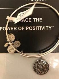 【送料無料】ブレスレット アクセサリ— アレックスnwt alex and ani silver braceletlike a mother to me