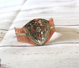 【送料無料】ブレスレット アクセサリ— クロスカフファッションブレスレットカジュアルcopper silver cross cuff fashion heart crystal engraved bracelet casual dress