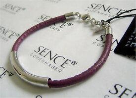 【送料無料】ブレスレット アクセサリ— コペンハーゲンブレスレットダークローズsence copenhagen leather bracelet basics dark rose
