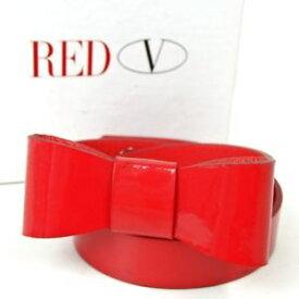 【送料無料】ブレスレット アクセサリ— バリボンデザイン…authentic red valentino hqj00184 ribbon design shake rubbed ~tsu to patent l