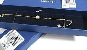 【送料無料】ブレスレット アクセサリ? スワロフスキーボルトマイクロブレスレットクリスタルswarovski bolt micro bracelet, goldplated crystal authentic mib 5098367