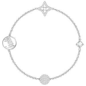 【送料無料】ブレスレット アクセサリ? スワロフスキーリミックスシルバーブレスレットドルswarovski 5365752 remix silver sparkle boundless bracelet 175cm rrp99