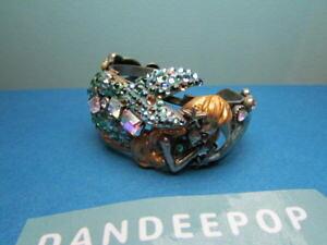 【送料無料】ブレスレット アクセサリ? ローレライマーメイドドルフィンカフブレスレットkirks folly lorelei mermaid sea goddess with dolphin amp; seahorse cuff bracelet