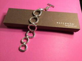 【送料無料】ブレスレット アクセサリ— シルバーラッシュブレスレットドルsilpada 925 sterling silver silver rush hammered bracelet b2709 7400 209