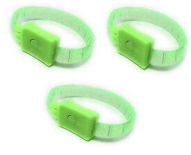 【送料無料】ブレスレット アクセサリ— 3 reglablesallume brillant clignotantリードdanseリード3 led vert rglable sallume brillant clignotant led fte bracelet danse