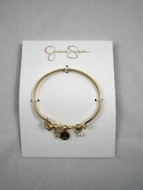 【送料無料】ブレスレット アクセサリ— ジェシカシンプソンブレスレットゴールドトーンカスタムボス*jessica simpson* womens bracelet gold tone custom infinity like a boss