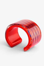 【送料無料】ブレスレット アクセサリ— kenzo x hm wide cuff bracelet orange red niobkenzo x hamp;m wide cuff bracelet orange red niob