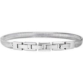 【送料無料】イタリアン ブレスレット ポリッシュスチールブレスレットbreil viper bracciale in acciaio lucido tj2247