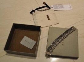 【送料無料】イタリアン ブレスレット ラインシルバーnuova linea donna marni luce argento braccialetaglia large