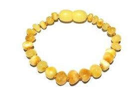 【送料無料】イタリアン ブレスレット アンブロシアバルトブレスレットオレンジadulto ambrosia lucido butterscotch baltic amber bracelet amore ambra x