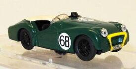 【送料無料】模型車 スポーツカー モデルスケールモデルカーvitesse models 143 scale model car triumph tr3a 195861 green