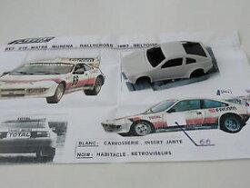 【送料無料】模型車 スポーツカー モデルchestnut model 143 matra murena total rallycross beltoise 1981