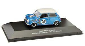 【送料無料】模型車 スポーツカー オースティンミニクーパーsアレックプールbtcc143ref110atlas btcc touring austin mini cooper s alec poole 143 atlas ref110