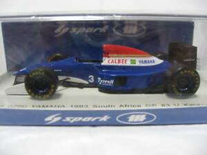 【送料無料】模型車 スポーツカー スパークティレルヤマハアフリカspark 1 43 tyrrell yamaha 020 c katayama ukyo junko south africa 1993 miyazawa