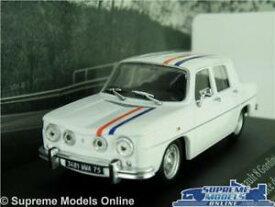 【送料無料】模型車 スポーツカー ルノーカーモデルサイズネットワークアトラススポーツチームドフランスデスキーrenault 8 gordini car model 143 size 1968 ixo atlas equipe de france de ski t4z