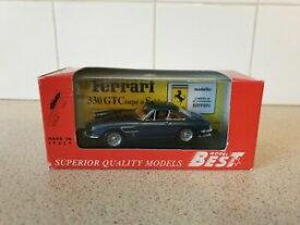 【送料無料】模型車 スポーツカー モデルフェラーリスケールモデルカー listingbest models ferrari 330 gtc blue paintwork 143 scale model car 9100