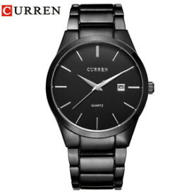【送料無料】腕時計 アナログスポーツビジネスcurren luxury analog sports wristwatch business rare gift for him dad father son