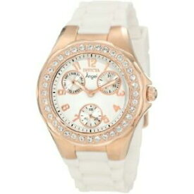 【送料無料】腕時計 シリコンクロノグラフウォッチinvicta angel 1646 silicone chronograph watch